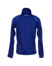 Stone Island - Blue Sweatshirt for Men - Lyst