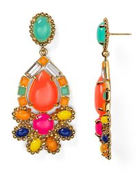kate spade new york | Multicolor Amalfi Mosaic Chandelier Earrings Bloomingdales Exclusive | Lyst