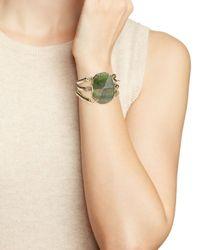 Aqua | Metallic Jeriel Stretch Bracelet | Lyst