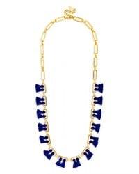 BaubleBar | Blue Sebastian Tassel Collar | Lyst