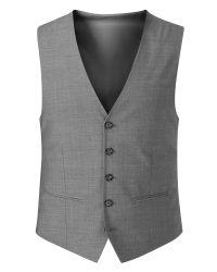 Skopes - Gray Piero Plain Tailored Fit Waistcoat for Men - Lyst