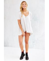 Truly Madly Deeply - White Lily Tunic Top - Lyst