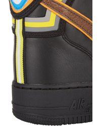 Nike - Black Mens Air Force 1 Rt High Sneakers for Men - Lyst
