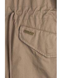 Woolrich - Natural Prescott Eskimo Cotton Jacket - Brown - Lyst