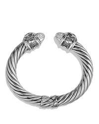 David Yurman | Metallic Renaissance Bracelet With Diamonds | Lyst