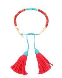 Aurelie Bidermann | Blue Sioux Beaded Bracelet | Lyst