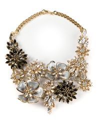 Ermanno Scervino - Metallic Jewel Embellished Necklace - Lyst