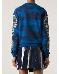 KENZO | Blue Eye Sweatshirt | Lyst