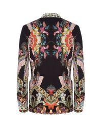 Etro - Multicolor Floral Print Soft Blazer - Lyst