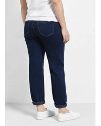 Violeta by Mango - Blue Relaxed Ely Jeans - Lyst