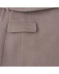 L.K.Bennett   Brown Lunel Coat   Lyst