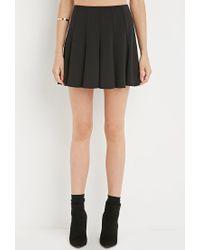 Forever 21 | Black Fluted Skirt | Lyst