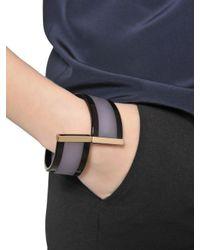 Emporio Armani | Purple Resin Bracelet | Lyst