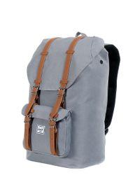Herschel Supply Co. - Gray 25l Little America Nylon Backpack for Men - Lyst