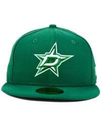 KTZ - Green Dallas Stars C-dub 59fifty Cap for Men - Lyst
