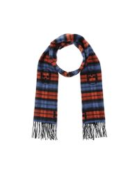 Lucien Pellat Finet - Red Oblong Scarf - Lyst