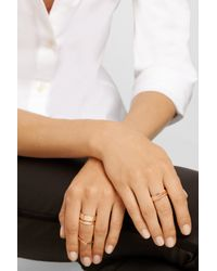 Repossi - Metallic 18-Karat Rose Gold Ring - Lyst