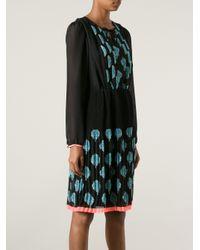 INTROPIA - Blue Printed Dress - Lyst