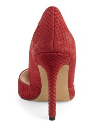 Vince Camuto - Red Rowin Pumps - Lyst