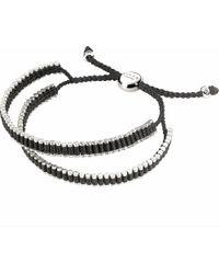 Links of London | Black Double Wrap Friendship Bracelet - For Women | Lyst