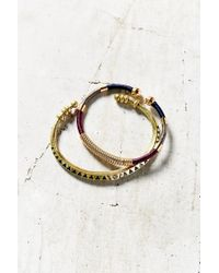 Urban Outfitters - Metallic On The Road Metal Cuff Bracelet Set - Lyst