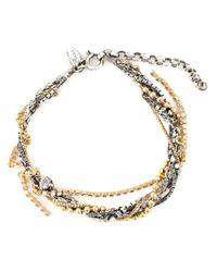Puro Iosselliani - Metallic Tangled Bracelet - Lyst