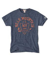 Todd Snyder | Blue Bear Mountain T-shirt for Men | Lyst