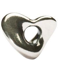 Trollbeads | Metallic Silver Soft Heart Charm | Lyst