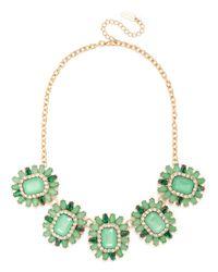 BaubleBar - Green Dandelion Bib - Lyst