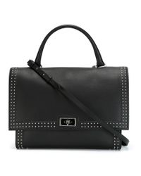Givenchy | Black Medium 'shark' Tote | Lyst