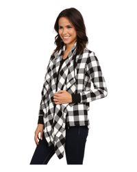 Alternative Apparel | Black Yarn Dye Flannel Bungalow Wrap | Lyst