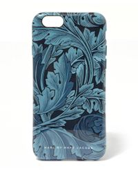 Marc By Marc Jacobs | Blue Acanthus Iphone 6 Case | Lyst