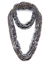 Jianhui | Metallic Pashmina Chain Necklace | Lyst
