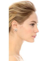Kate Spade | Eyelet Garden Stud Earrings - White Multi | Lyst