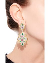 David Webb - Multicolor Amythest Earrings - Lyst