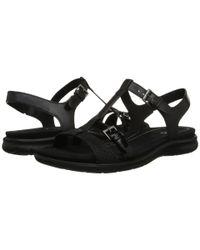 Ecco - Black Babette Sandal T-strap - Lyst