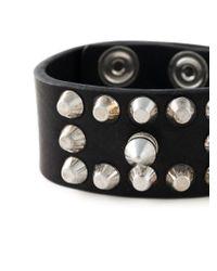 DIESEL | Black 'acowy' Bracelet for Men | Lyst