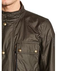 Belstaff - Brown Trialmaster Waxed Cotton Jacket for Men - Lyst