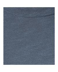 Velvet - Blue Bay Cotton T-Shirt - Lyst