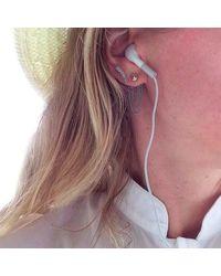 Jenny Bird - Metallic Lezark Ear Jackets - Lyst