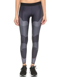 Ultracor | Gray Camo Tech Print Leggings - Steel | Lyst