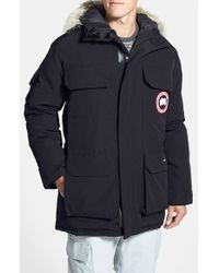 Canada Goose   Gray 'expedition' Relaxed Fit Down Parka for Men   Lyst