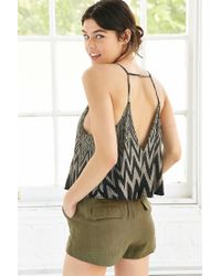 Silence + Noise | Gray Tarlee Open-back Cami | Lyst