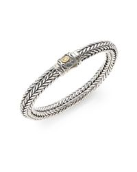 Scott Kay | Metallic Kodiak Braided Bracelet for Men | Lyst