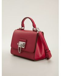 Dolce & Gabbana - Red Chain Feature Tote - Lyst