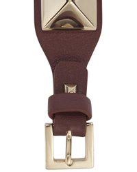 Valentino | Purple Rockstud Bordeaux Bracelet | Lyst