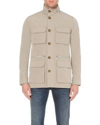 Michael Kors | Brown Pocket-detail Shell Jacket - For Men for Men | Lyst