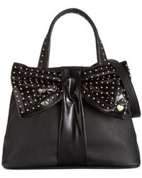 Betsey Johnson | Black Bow Tie Shopper | Lyst