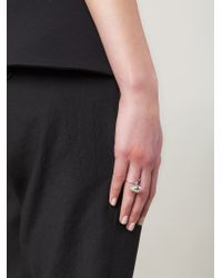 Lara Bohinc | Metallic 'eye' Ring | Lyst