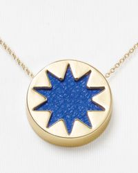 House of Harlow 1960 - Metallic Mini Sunburst Pendant Necklace 16 - Lyst